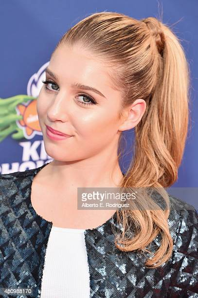 Actress Paris Smith attends the Nickelodeon Kids' Choice Sports Awards 2015 at UCLA's Pauley Pavilion on July 16 2015 in Westwood California