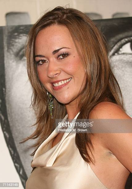 Actress Parisse Boothe arrives at the premiere of HBO's Deadwood Season 3 held at The Cinerama Dome on June 6 2006 in Hollywood California