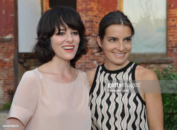 Actress Parker Posey and designer Rachel Comey attend the Rachel Comey presentation at Pioneer Works Center For Arts Innovation in Red Hook on...