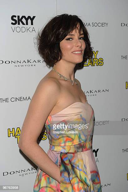 Actress Parker Posey attends a screening of Happy Tears hosted by the Cinema Society and Donna Karan at The Museum of Modern Art on February 16 2010...