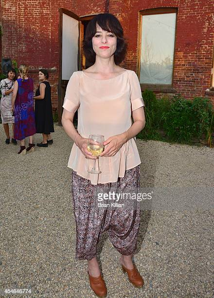 Actress Parker Posey attends Rachel Comey during MercedesBenz Fashion Week Spring 2015 at on September 4 2014 in New York City