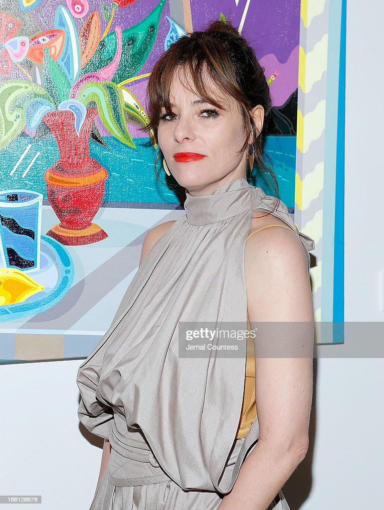 Actress Parker Posey attends the 2013 Tribeca Ball at New York Academy of Art on April 8, 2013 in New York City.