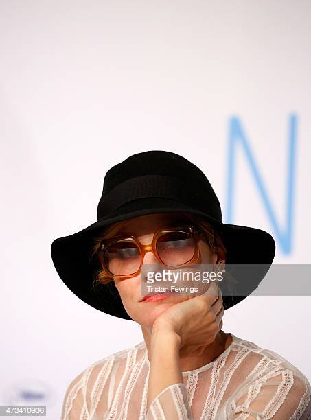 """Actress Parker Posey attends the """"Irrational Man"""" press Conference during the 68th annual Cannes Film Festival on May 15, 2015 in Cannes, France."""