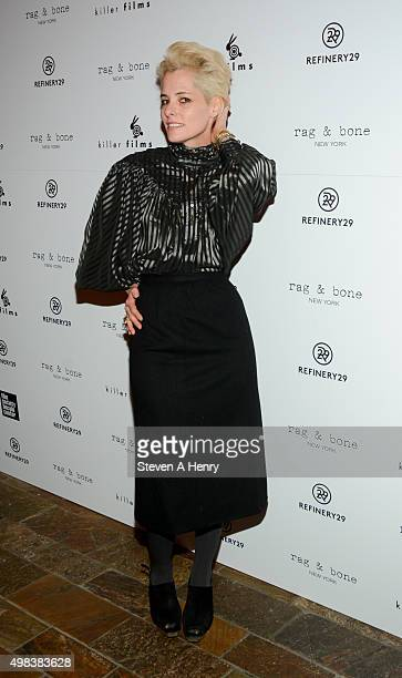 Actress Parker Posey attends the Killer Film's 20th Anniversary at the Roxy Hotel on November 22 2015 in New York City