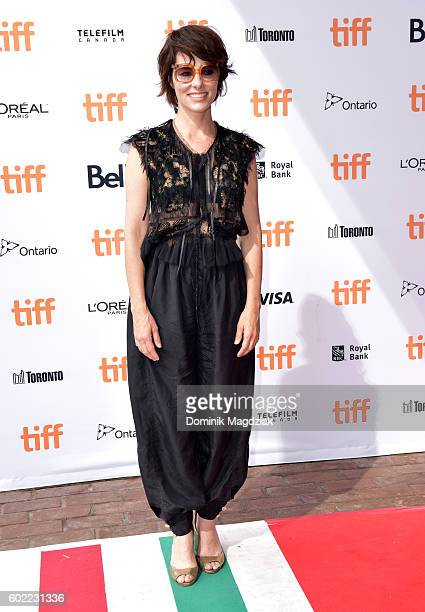 Actress Parker Posey attends the Netflix 'Mascots' premiere during the 2016 Toronto International Film Festival at Ryerson Theatre on September 10...