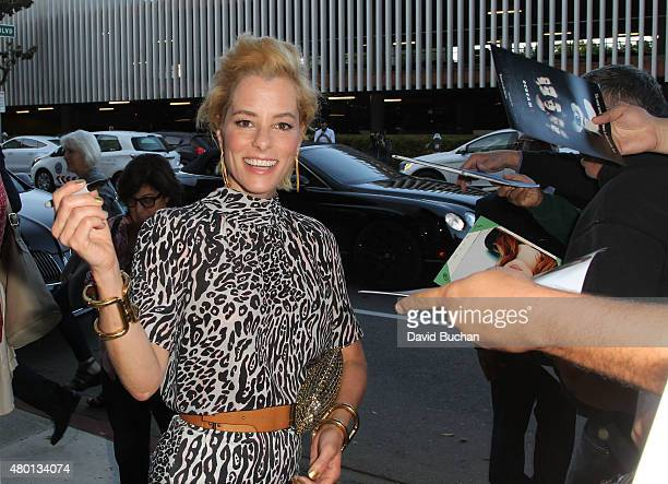 Actress Parker Posey attends the Premiere of Sony pictures Classics' 'Irrational Man' on July 9 2015 in Los Angeles California