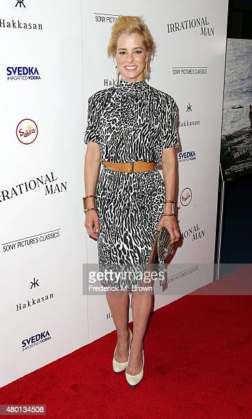 Actress Parker Posey attends the Premiere of Sony Pictures Classics' 'Irrational Man' at the Writer Guild of America Theatre on July 9 2015 in Los...