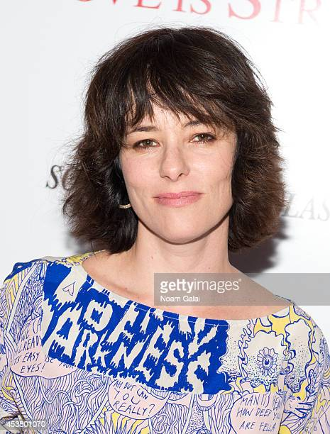Actress Parker Posey attends the Sony Pictures Classics With The Cinema Society Grey Goose screening of 'Love Is Strange' at Tribeca Grand Hotel on...