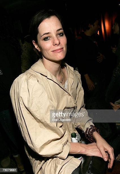 "Actress Parker Posey attends the Vox 3 Films Party for ""Broken English"" and ""Never Forever"" at the Main Event Lounge during 2007 Sundance Film..."