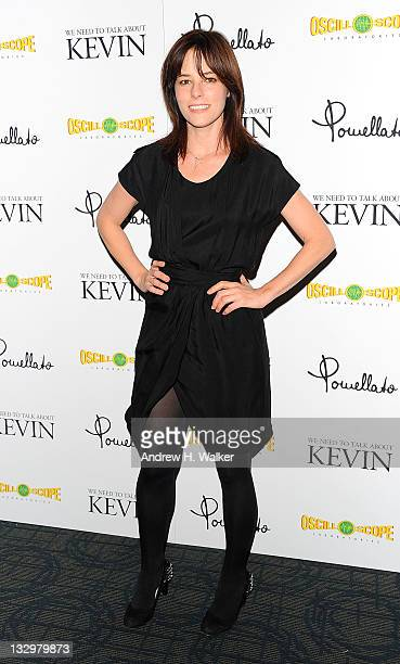 Actress Parker Posey attends the 'We Need to Talk About Kevin' screening at the Sunshine Landmark on November 15 2011 in New York City