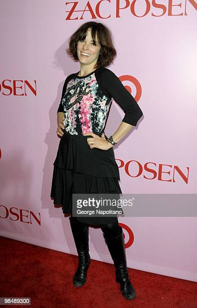 Actress Parker Posey attends the Zac Posen for Target Collection launch party at the New Yorker Hotel on April 15 2010 in New York City