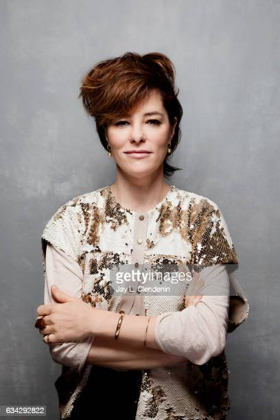 Actress Parker Posey from the film Columbus is photographed at the 2017 Sundance Film Festival for Los Angeles Times on January 22 2017 in Park City...