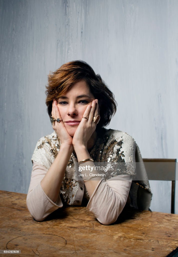 Actress Parker Posey, from the film Columbus, is photographed at the 2017 Sundance Film Festival for Los Angeles Times on January 22, 2017 in Park City, Utah. PUBLISHED IMAGE.