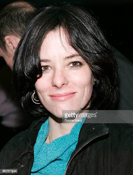 """Actress Parker Posey poses before attending the after-party for """"The Seagull"""" at Pangea on March 13, 2008 in New York City."""