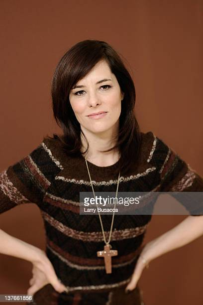Actress Parker Posey poses for a portrait during the 2012 Sundance Film Festival at the Getty Images Portrait Studio at TMobile Village at the Lift...