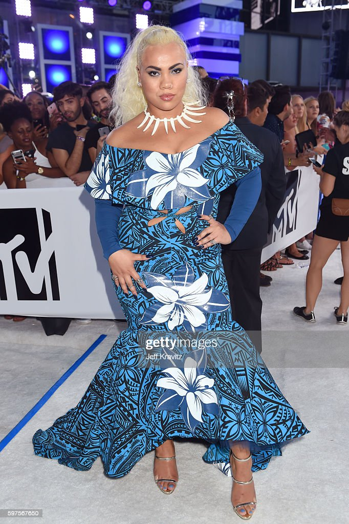 Actress Parris Goebel attends the 2016 MTV Video Music Awards at Madison Square Garden on August 28, 2016 in New York City.