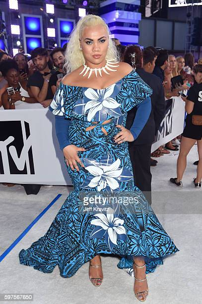 Actress Parris Goebel attends the 2016 MTV Video Music Awards at Madison Square Garden on August 28 2016 in New York City