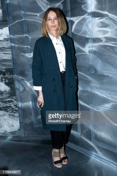Actress Pascale Arbillot attends the Christian Dior Haute Couture Fall/Winter 2019 2020 show as part of Paris Fashion Week on July 01 2019 in Paris...