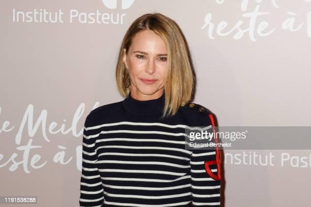 """Actress Pascale Arbillot attends the """"Le Meilleur Reste A Venir"""" Premiere At Le Grand Rex on December 02, 2019 in Paris, France."""