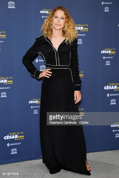 Actress Pascale Arbillot attends the 'Les Nuits En Or 2018' dinner gala at UNESCO on June 11 2018 in Paris France