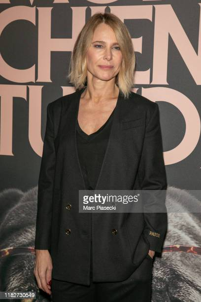 Actress Pascale Arbillot attends the Mon Chien Stupide premiere at UGC Normandie on October 22 2019 in Paris France