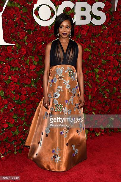 Actress Pascale Armand attends the 70th Annual Tony Awards at The Beacon Theatre on June 12 2016 in New York City