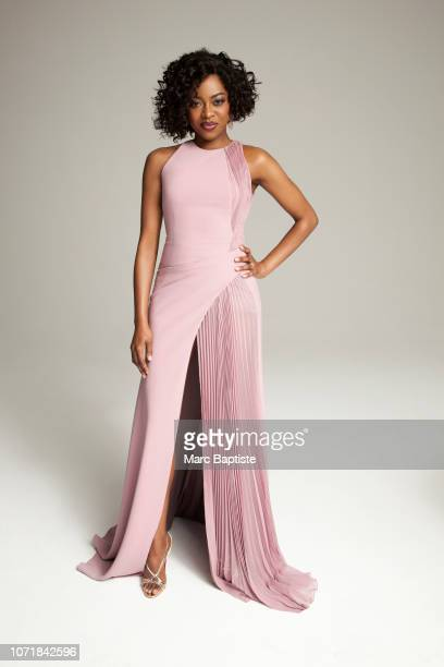 Actress Pascale Armand is photographed for Uptown Magazine on February 10 2016 in New York City PUBLISHED IMAGE