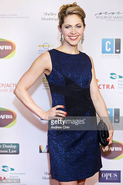 Actress Pascale Hutton arrives at 2013 UBCP/ACTRA Awards on November 24 2013 in Vancouver Canada