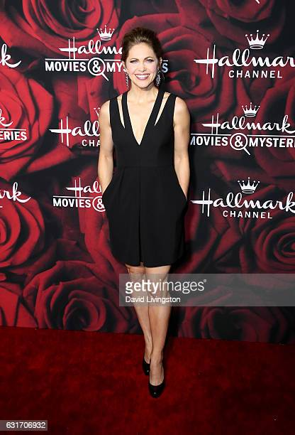 Actress Pascale Hutton attends Hallmark Channel and Hallmark Movies and Mysteries Winter 2017 TCA Press Tour at The Tournament House on January 14...