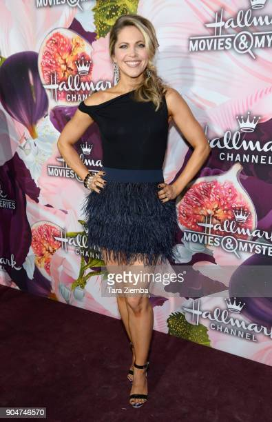 Actress Pascale Hutton attends Hallmark Channel and Hallmark Movies and Mysteries Winter 2018 TCA Press Tour at Tournament House on January 13 2018...