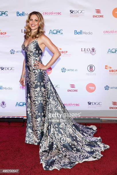Actress Pascale Hutton attends the 2014 Leo Awards Gala Awards Ceremony at Fairmont Hotel Vancouver on June 1 2014 in Vancouver Canada