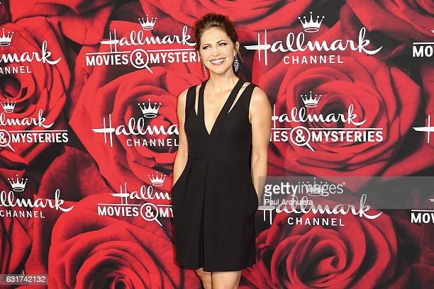 Actress Pascale Hutton attends the Hallmark Channel and Hallmark Movies and Mysteries Winter 2017 TCA Press Tour at The Tournament House on January...