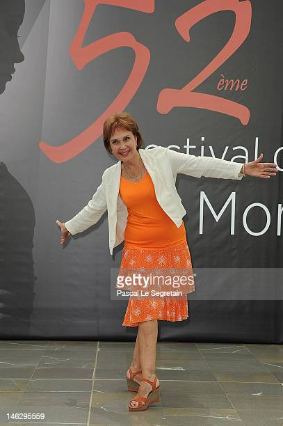 Actress Pascale Roberts attends a photocall for 'Plus Belle La Vie' during the 52nd Monte Carlo TV Festival on June 13 2012 in MonteCarlo Monaco