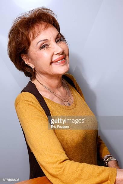 Actress Pascale Roberts Photographed in PARIS