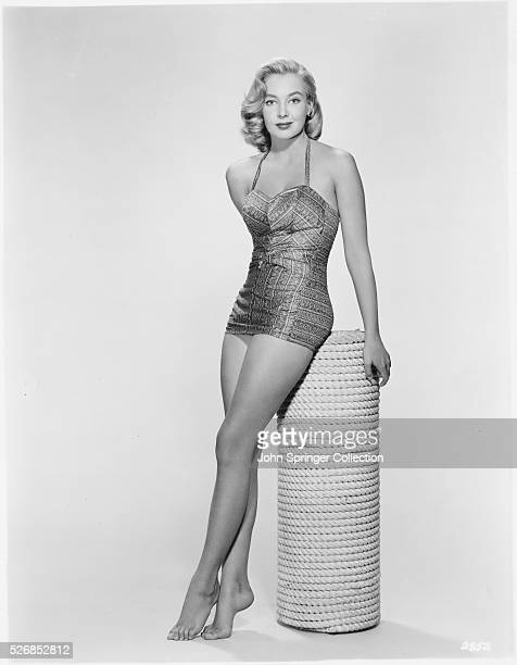 Actress Pat Cawley in a Swimsuit