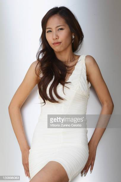 Actress Patcharaleartrat Lapatsanan poses during the Saudade portrait session during the 64th Festival del Film di Locarno on August 12 2011 in...