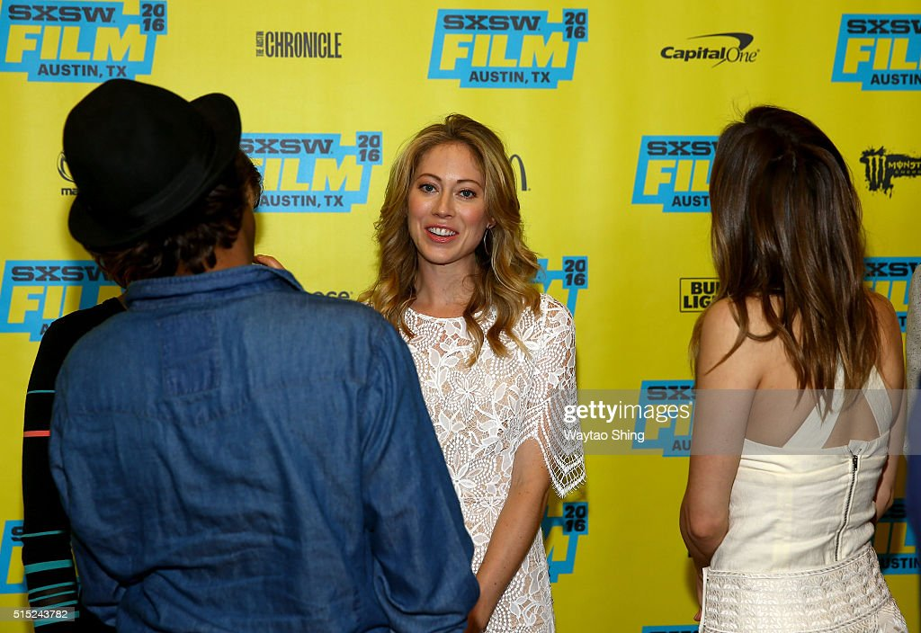 Actress Paten Hughes attends the premiere of 'Long Nights Short Mornings' during the 2016 SXSW Music, Film + Interactive Festival at Alamo Lamar A on March 12, 2016 in Austin, Texas.