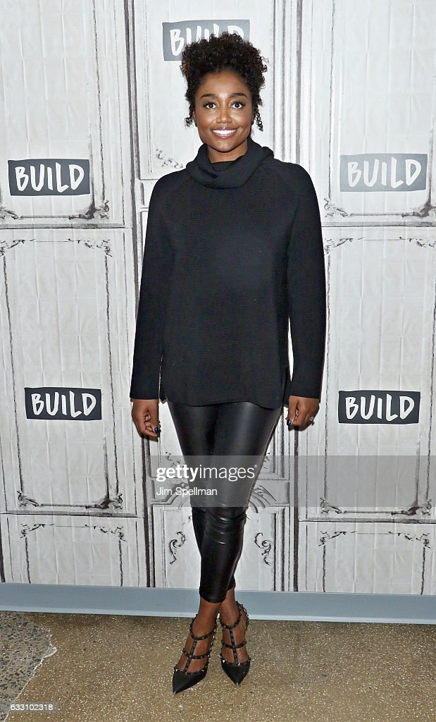 Actress Patina Miller attends the Build series to discuss 'Madam Secretary' at Build Studio on January 30, 2017 in New York City.