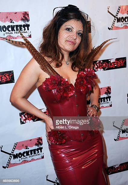 Actress Patrica Chica attends the ShockFest Film Festival Awards held at Raleigh Studios on January 11 2014 in Los Angeles California