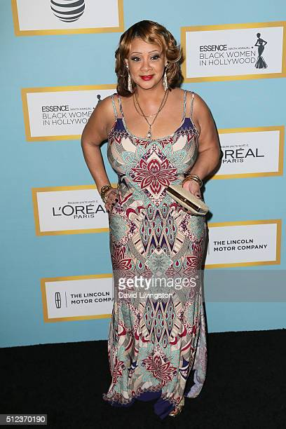 Actress Patrice Lovely arrives at the Essence 9th Annual Black Women event in Hollywood at the Beverly Wilshire Four Seasons Hotel on February 25...