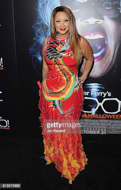"Actress Patrice Lovely arrives at the Los Angeles Premiere ""Boo! A Madea Halloween"" at ArcLight Cinemas Cinerama Dome on October 17, 2016 in..."