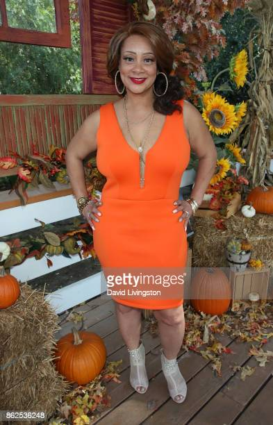 "Actress Patrice Lovely attends Hallmark's ""Home & Family"" at Universal Studios Hollywood on October 17, 2017 in Universal City, California."