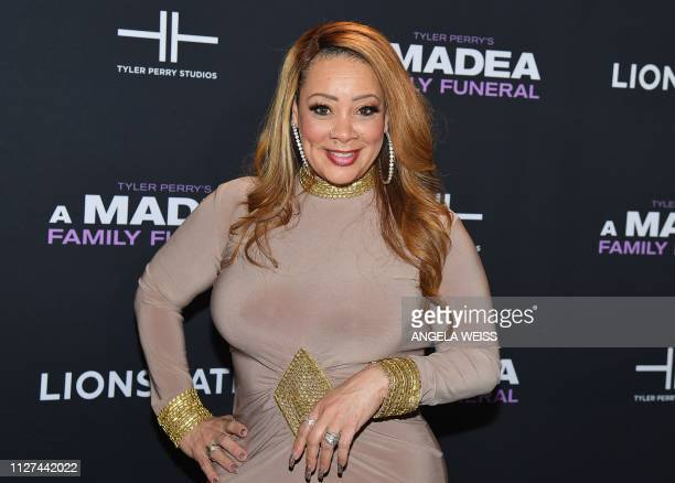 Actress Patrice Lovely attends the NY special screening for Tyler Perry's 'A Madea Family Funeral' at SVA Theater on February 25 2019 in New York City