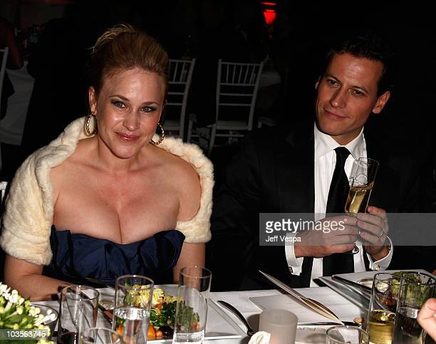 Actress Patricia Arquette and actor Ioan Gruffudd attend The Art of Elysium 2nd Annual Heaven Gala held at Vibiana on January 10, 2009 in Los...