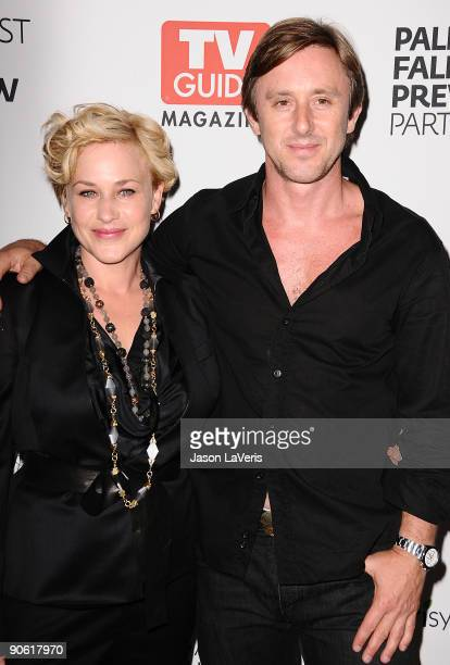 Actress Patricia Arquette and actor Jake Weber attend the CBS fall preview party presented by TV Guide at The Paley Center for Media on September 11...
