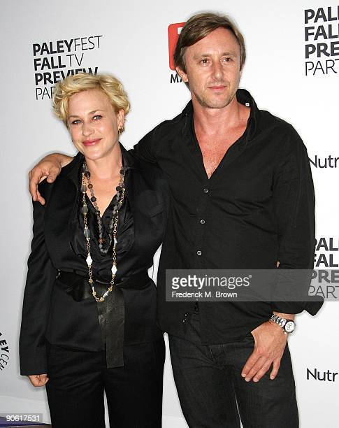 """Actress Patricia Arquette and actor Jake Weber of the television show """"Medium"""" attend the PaleyFest and TV Guide Magazine's CBS Fall television..."""