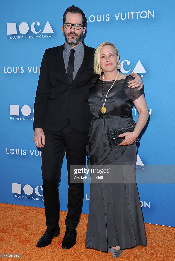 Actress Patricia Arquette (R) and Eric White attend the 2015 MOCA Gala at The Geffen Contemporary at MOCA on May 30, 2015 in Los Angeles, California.