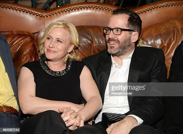 Actress Patricia Arquette and Eric White attend the AMC Networks and IFC Films Spirit Awards After Party on February 21 2015 in Santa Monica...