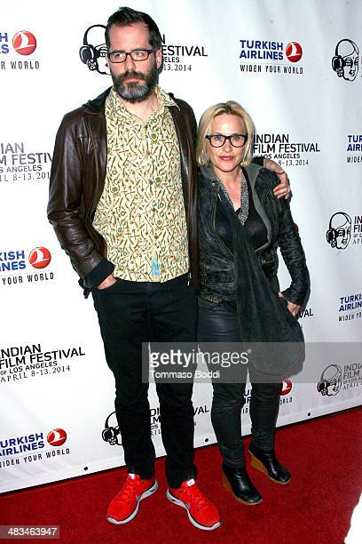 Actress Patricia Arquette and guest attend the 2014 Indian Film Festival of Los Angeles opening night screening of 'Sold' held at the ArcLight...