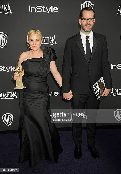 Actress Patricia Arquette arrives at the 16th Annual Warner Bros. And InStyle Post-Golden Globe Party at The Beverly Hilton Hotel on January 11, 2015...